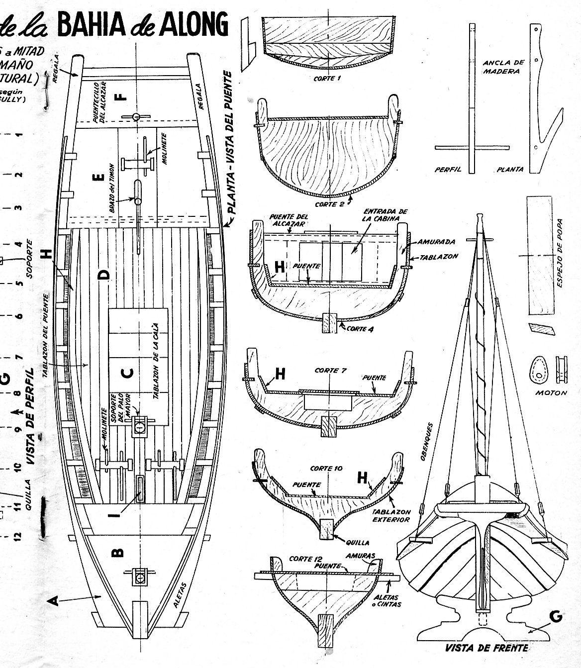 Barco modelismo madera buscar con google barcos for Planos gratis