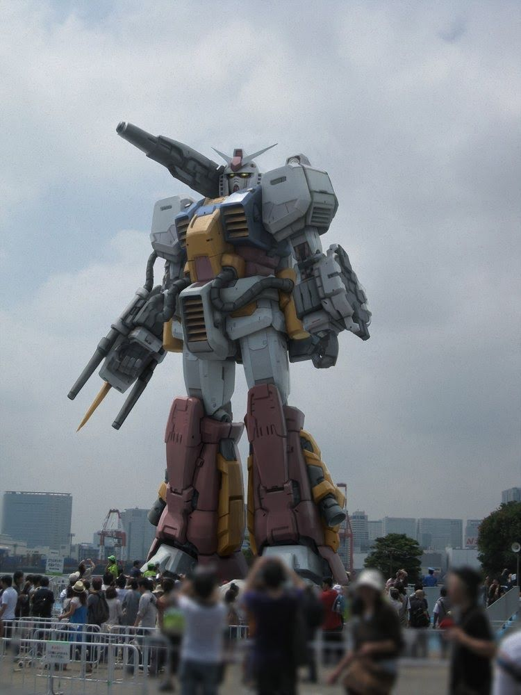 GUNDAM GUY: Awesome ideas for the 1:1 Scale Gundam Statue!