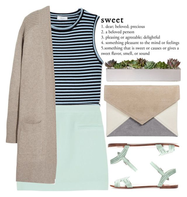 """""""🏔"""" by sewing-girl ❤ liked on Polyvore featuring A.L.C., T By Alexander Wang, N.Peal and Pull&Bear"""