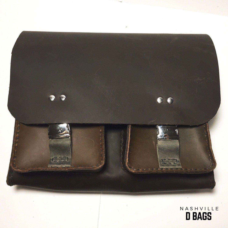 Handmade Genuine Leather Clic D Bag