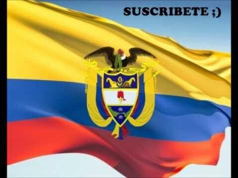 La bandera con escudo