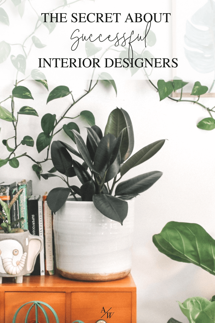 Successful people reflect what their clients know about themselves interior design business also the secret designers alyciawicker rh pinterest