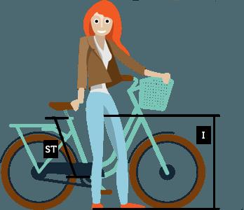 City Bike Size Chart City Bike Bike Stationary Bike