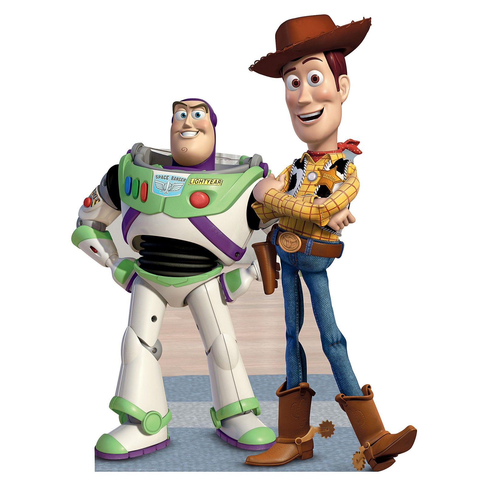 Buzz And Woody Lifesize Cardboard Standee