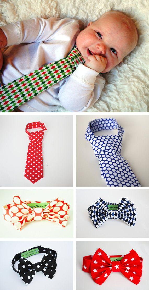 Pajaritas y corbatas para bebés | Estrellicas y nubes y rayos y ...
