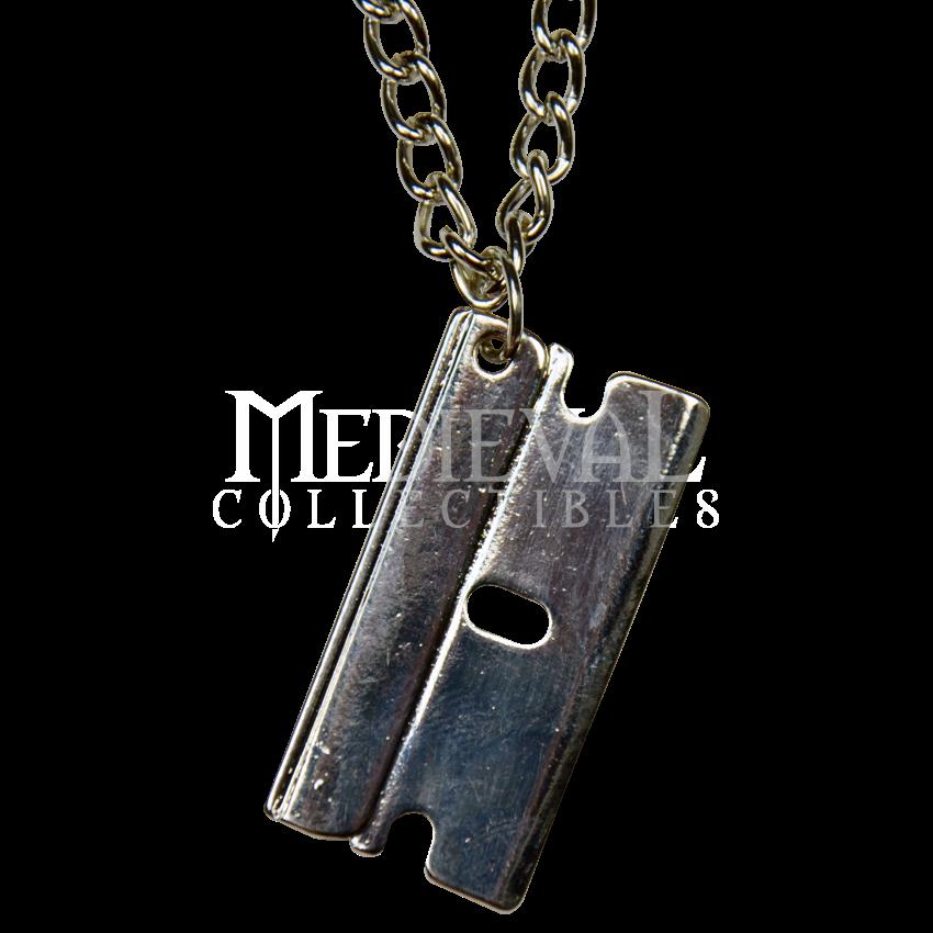 Razor blade jewelry razor blade necklace razor blade stuff razor blade jewelry razor blade necklace thecheapjerseys Choice Image