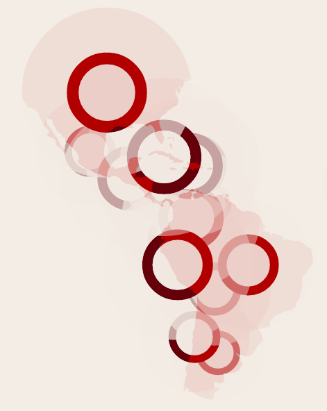 Disaster-induced displacement events #dataviz by Tuxtax http://riccardoscalco.github.io/disasters