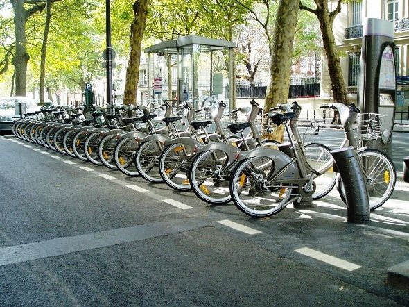 Bicycles Pushing Forward In Vancouver City Bike Bicycle