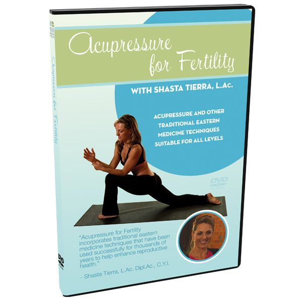 Acupressure for Fertility DVD | Acupressure, Acupressure ...