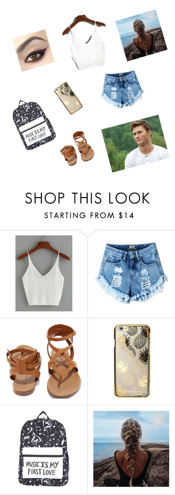 """Wildest Dreams"" by brynn-gaudet on Polyvore featuring Breckelle's and Skinnydip"