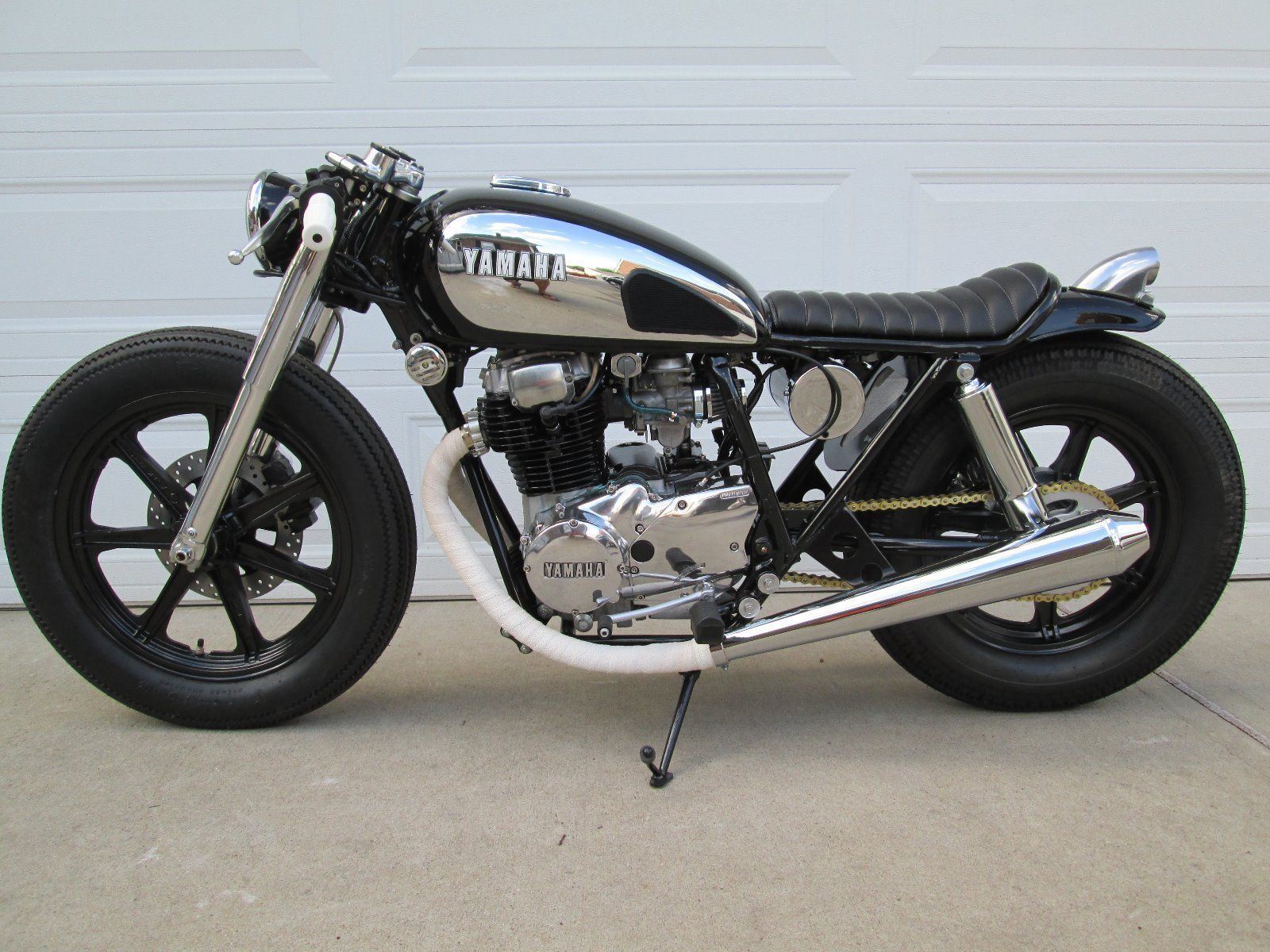 yamaha xs400 custom cafe racer motorcycles for sale custom cafe racer cafe racers for sale. Black Bedroom Furniture Sets. Home Design Ideas