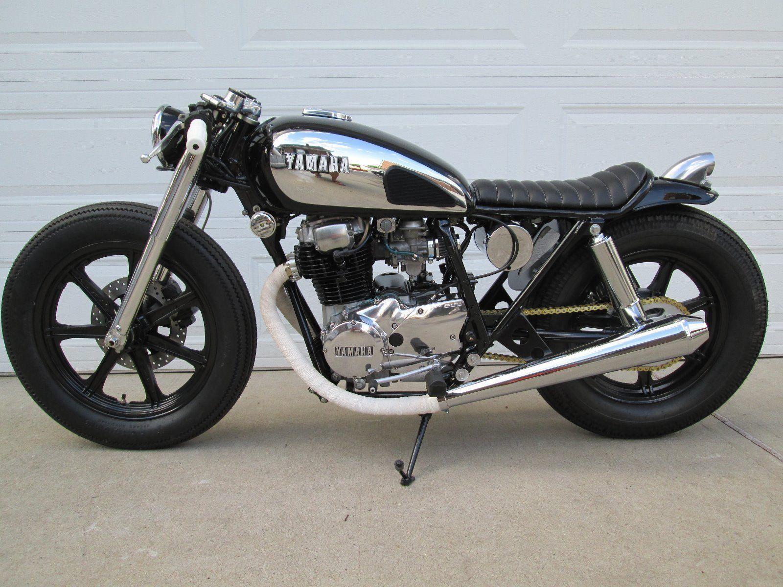 Yamaha XS400 Cafe Racer Brat