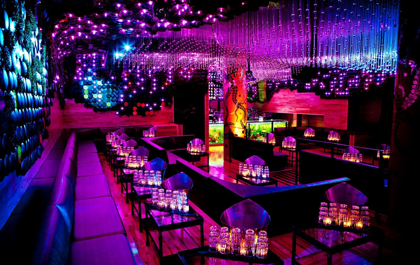 Beautiful Spot Inside 1oak Las Vegas For Bottle Service Nightclub Design Night Club Club Design