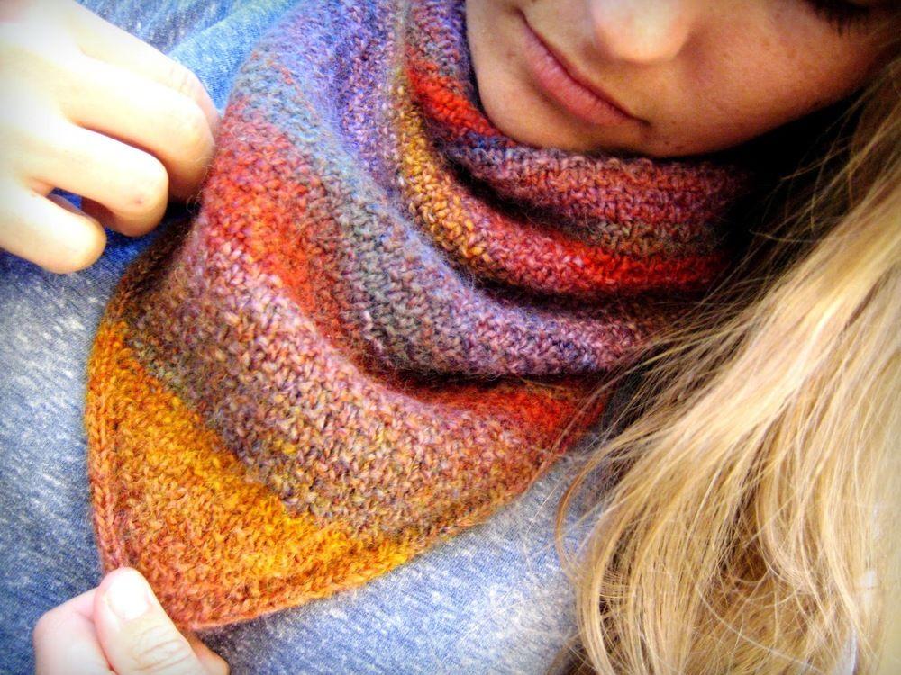 Sunset Scarf Knitting Pattern | Pinterest