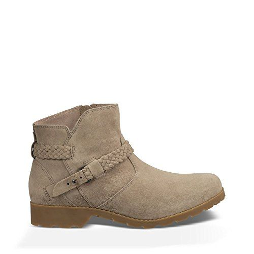 Teva Womens Delavina Suede Ankle Boot