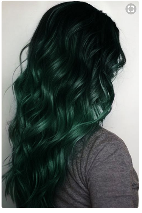 Deep Green Hair Color if your going for a new hair look