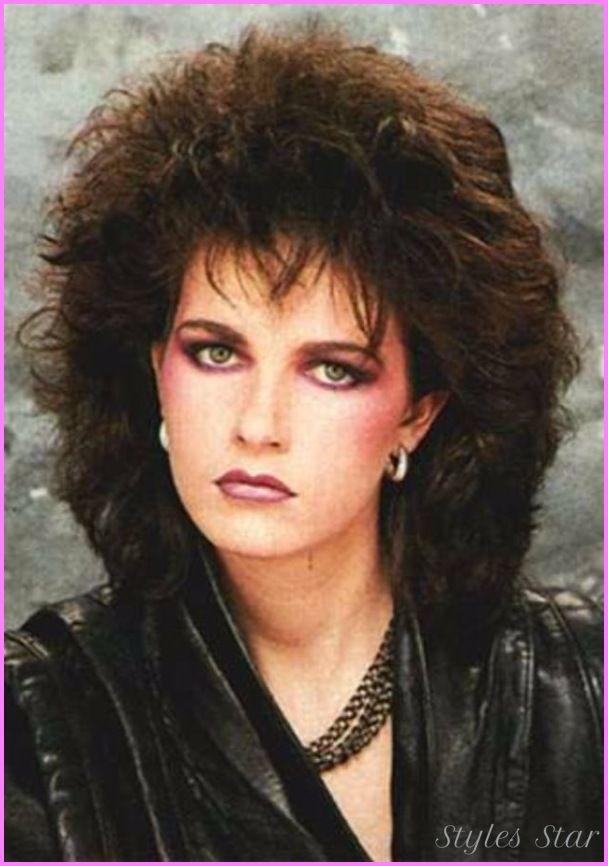 Cool 1980s Hairstyles For Women Makiyazh V Stile 80 H Zhenskie Pricheski Pricheski