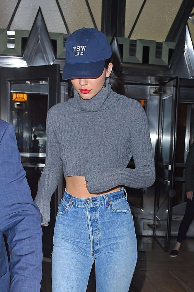 Kendall Jenner in Jeans Out in New York