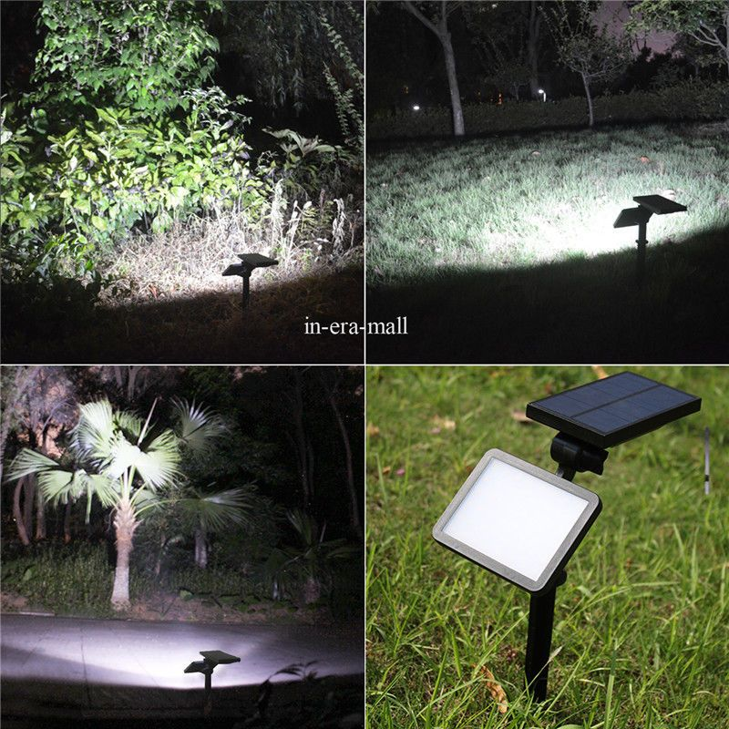 48 Led Waterproof Solar Powered Outdoor Garden Security Flood Light Spot Lamp Solar Landscape Lighting Solar Spot Lights Outdoor Outdoor Solar