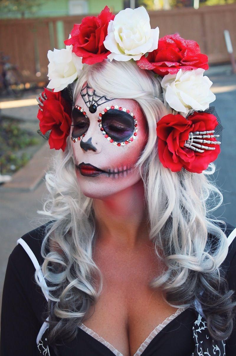 candy skull makeup - Google Search | inspiraskulls ...