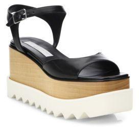 Stella McCartney Buckled Ankle Platform Sandals