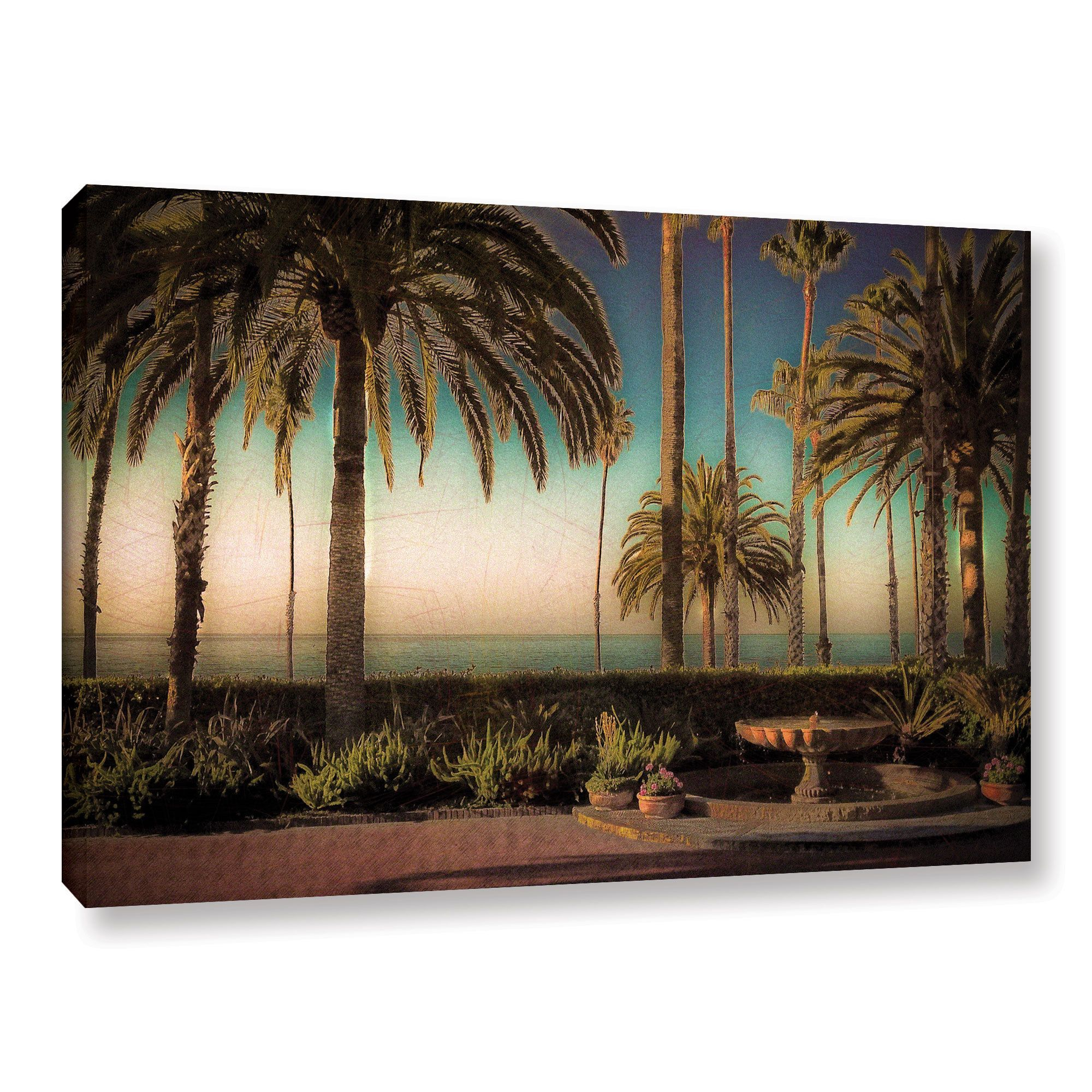 ArtWall Richard James's 'Bowmans View' Gallery Wrapped Canvas