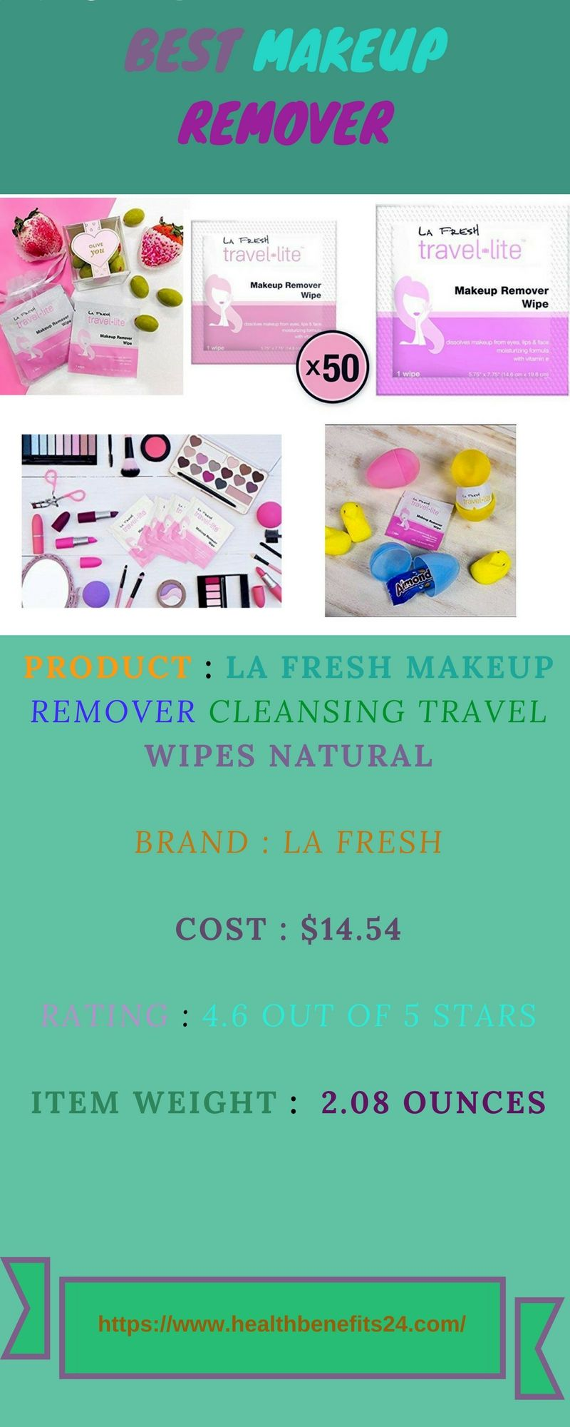 Best makeup remover wipes Makeup remover wipes, Best