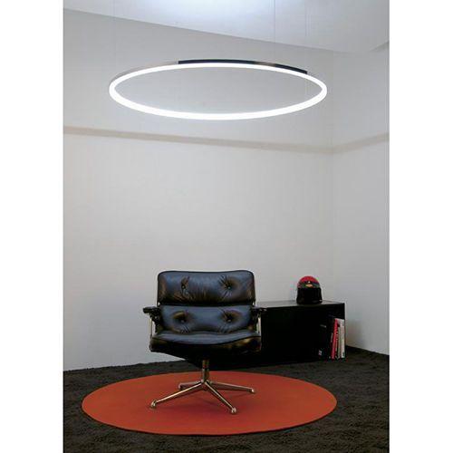 Moderne Hängelampe Leuchte Lüster Kronleuchter LED Ring - led leuchten wohnzimmer