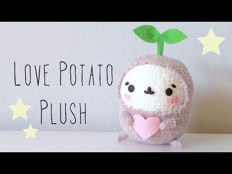 Love Potato Sock Plush Tutorial