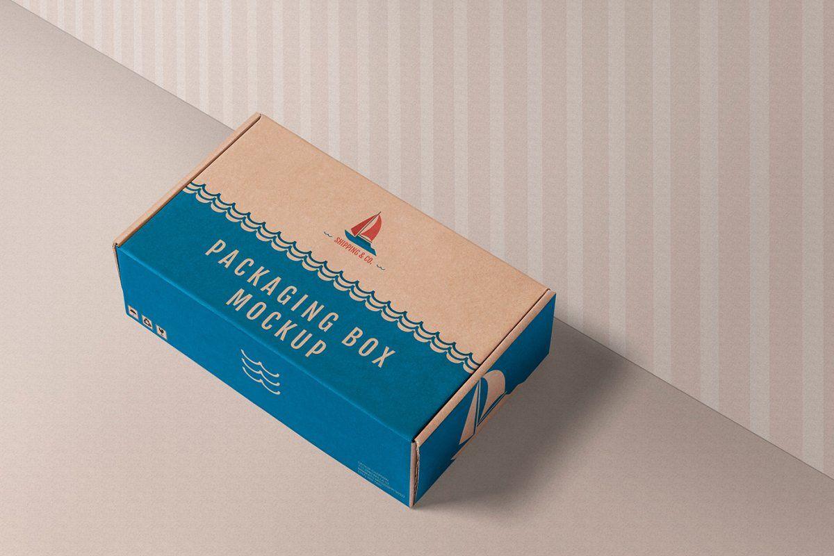 Download Gift Box Mockups Box Mockup Box Packaging Design Custom Shipping Boxes