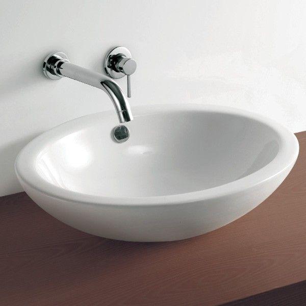 Oval Countertop Basin £66.95 | 91 Bathroom Reno | Pinterest ...