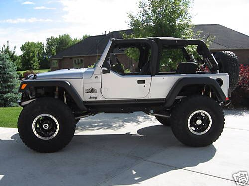 Jeep LJ ... Lifted