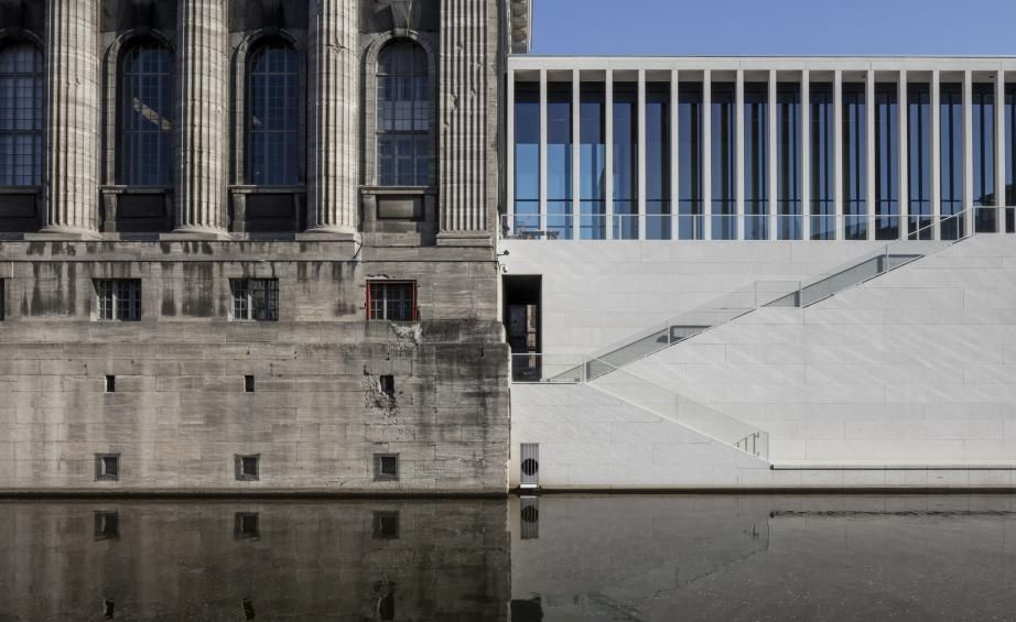 David Chipperfield S James Simon Galerie Opens In Berlin David Chipperfield Architects Museum Island New Museum