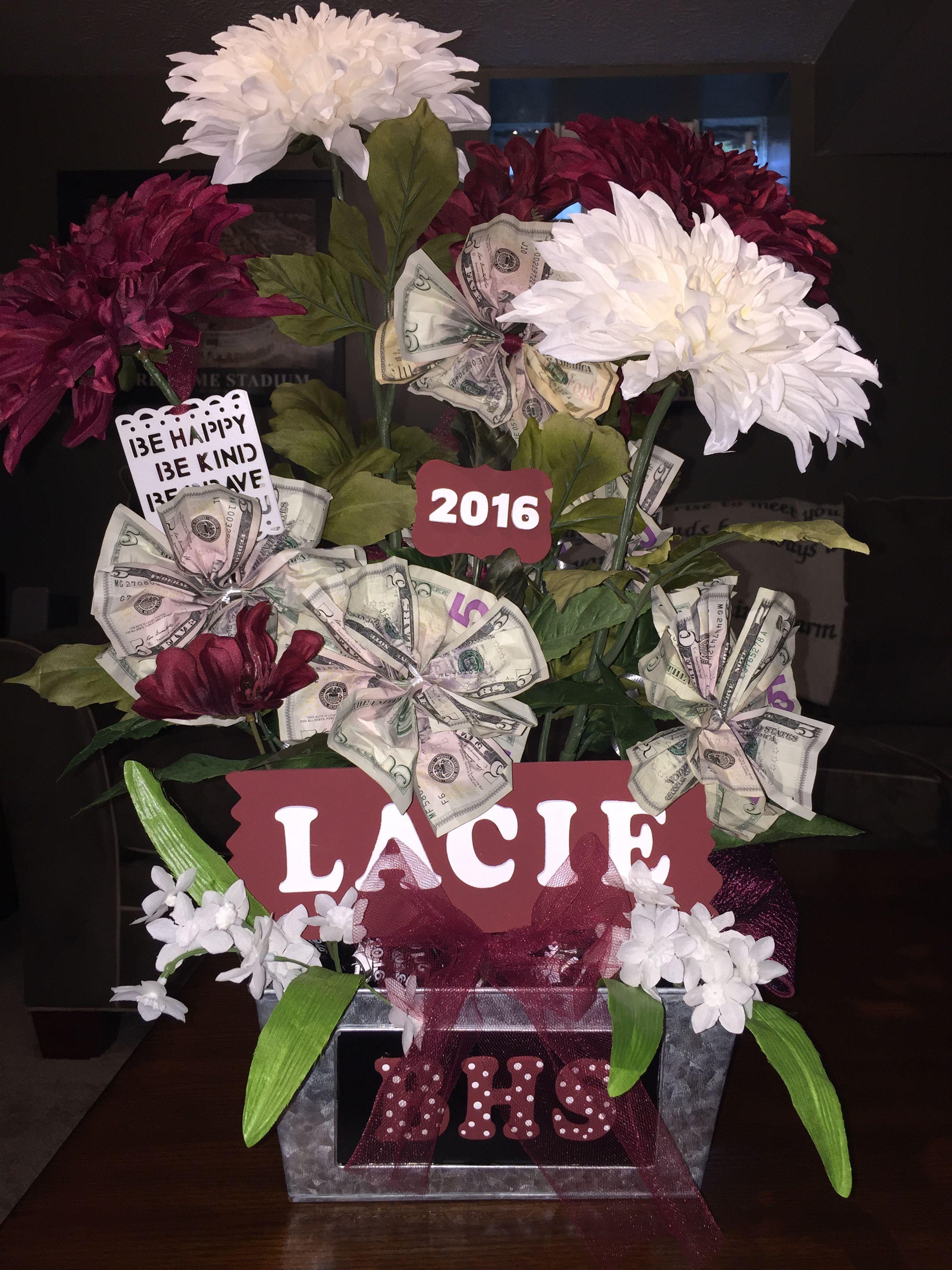 Money Flower Bouquet #graduation #specialevent #wedding #money #gift ...