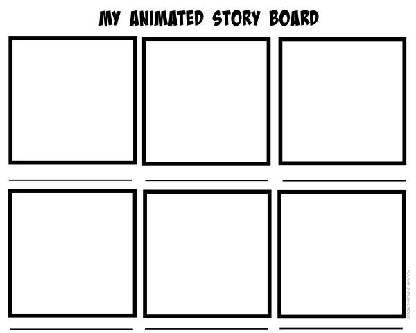 7 Tips for Creating Stop Motion Animation with Kids Animation - professional storyboard template