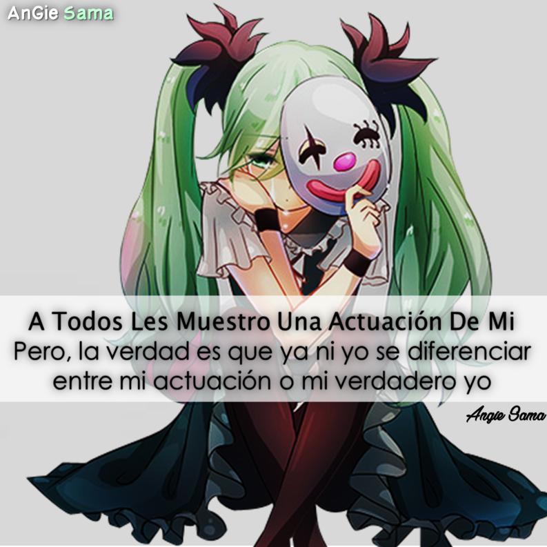 Frase Triste De Chica Anime …