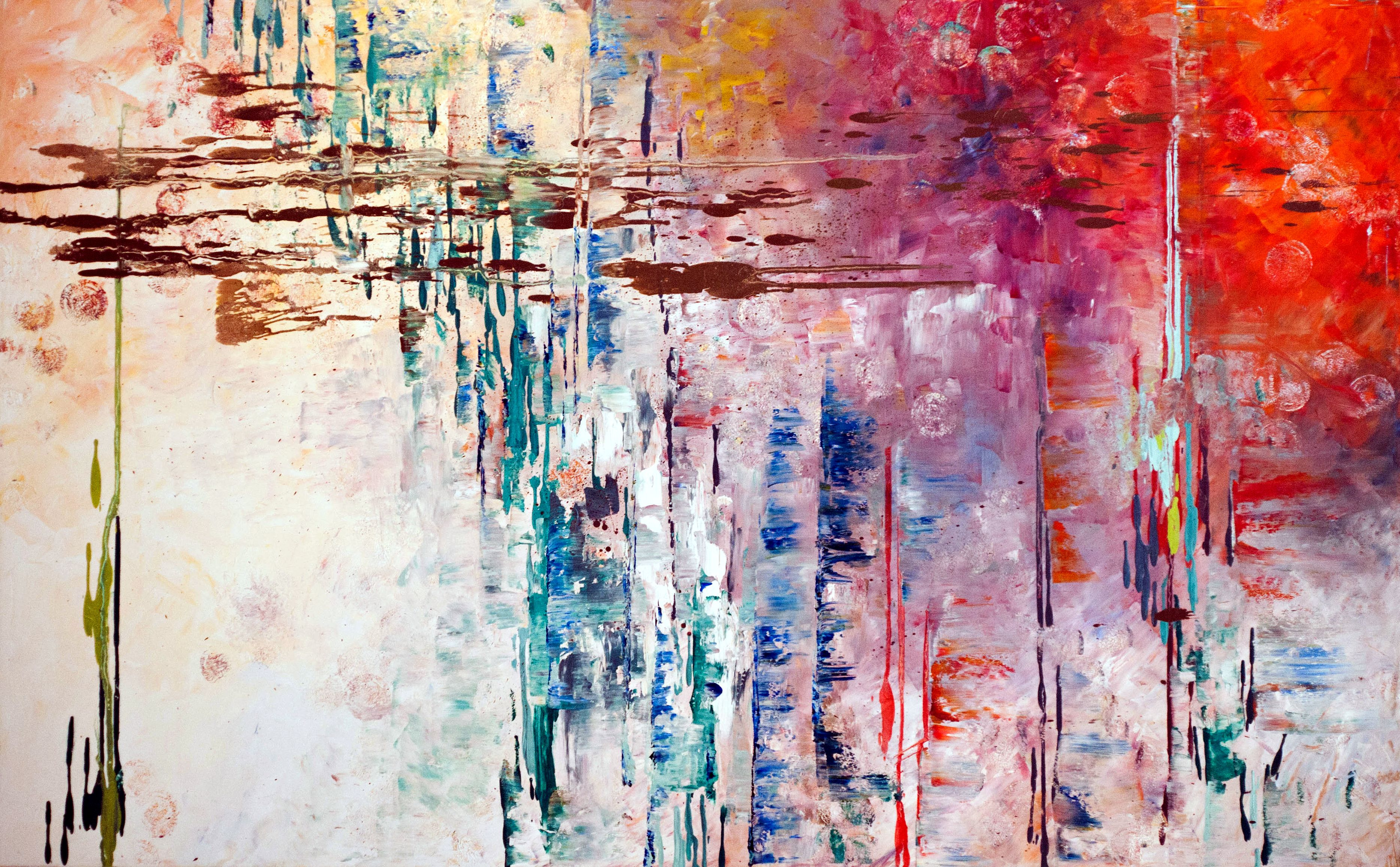 Abstract expressionism kathryn hackney art pinterest for Different types of abstract art
