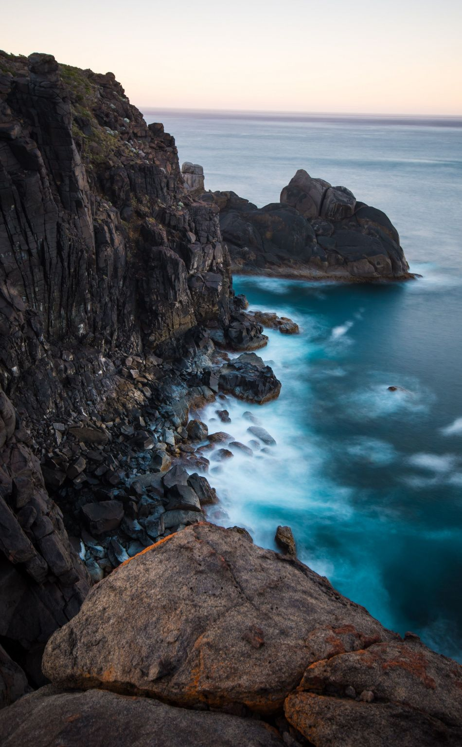 Coast Blue Sea Rocks Adorable Nature 950x1534 Wallpaper Nature Water Rock Photography Ocean Shores Hd wallpaper sea coast mountains rocks