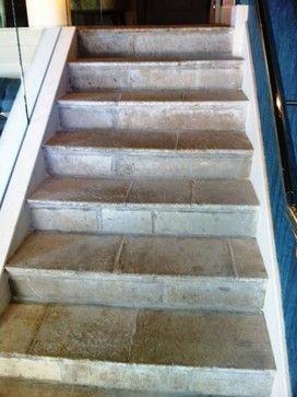 "Antique Reclaimed French Blonde Barr limestone flooring eclectic floor tiles- Paris Ceramics, Boston  ""Eclectic"""