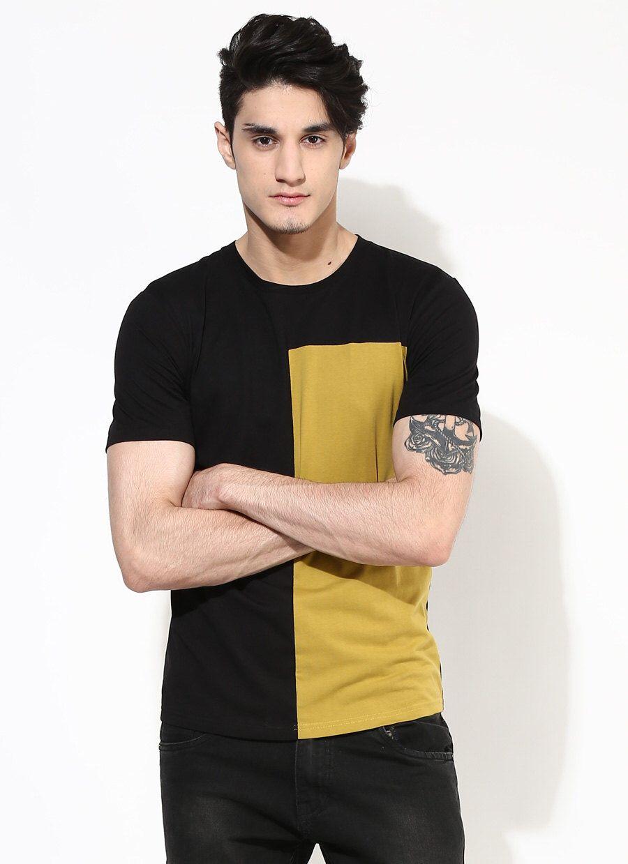 122cc00c5 Black and Gold T-shirt. Popular T-shirt on Etsy. Organic Cotton T ...