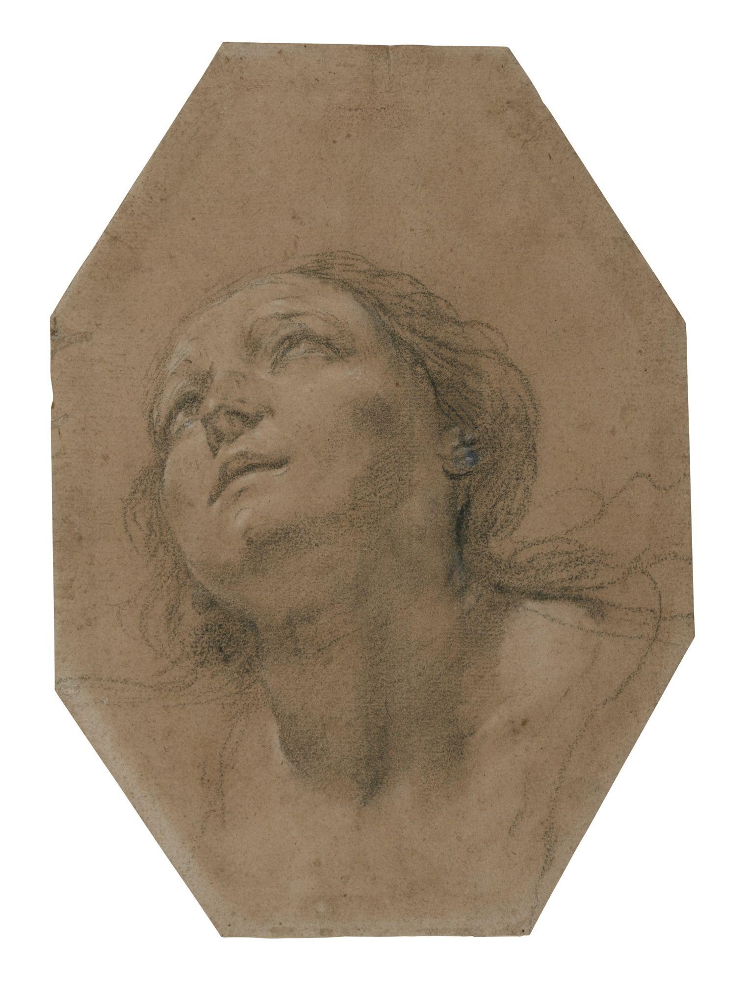 preti, mattia head of ||| portrait - female ||| sotheby's l16040lot8txlfen
