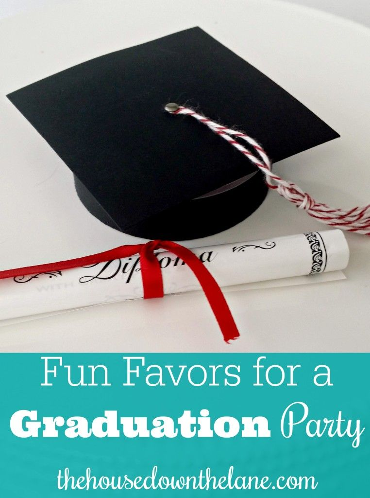 Fun Favors for a Graduation Party - Home Craft Ideas