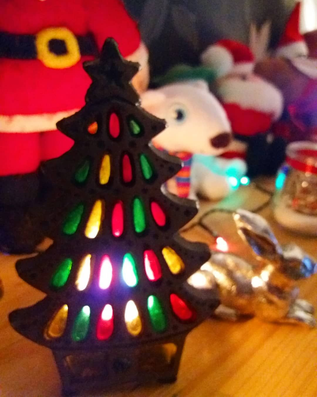 Found this Xmas tree candle holder in an antique shop in Louth. What a lovely fi... #christmasdecor #christmasdecorations #xmasdecor #xmasdecorations