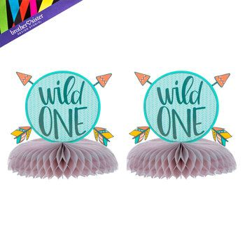 Wild One Woodland Paper Cups 24 Count