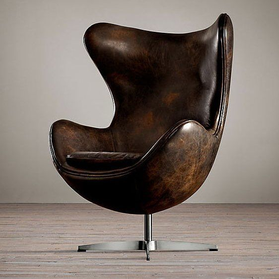 design #chair #eggchair #arnojacobsen #leather #icon Reposted Via ...