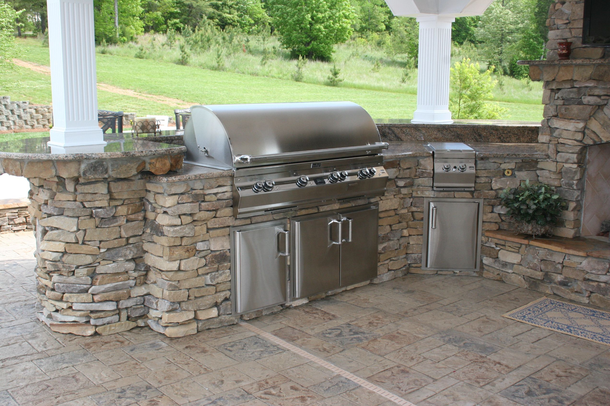 Outdoor Kitchen Grill Gas Stove Top Ice Chest Patio Gas Stove Top Outdoor Kitchen