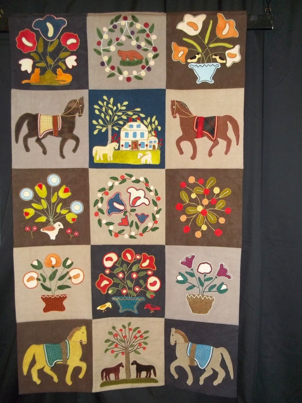 Simply Put Plus: Quilts from the Show, Judy Breneman adapted from Emily Monroe