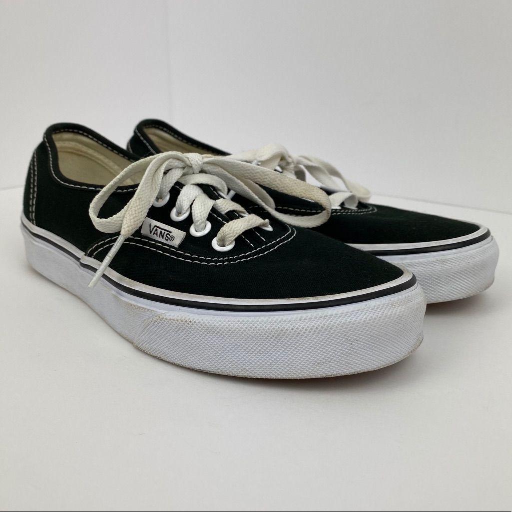 Vans Authentic Size 6 Women's Black Shoes | Black shoes women ...