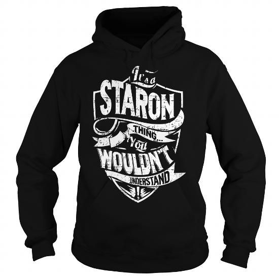 Cool It is a STARON Thing - STARON Last Name, Surname T-Shirt T-Shirts