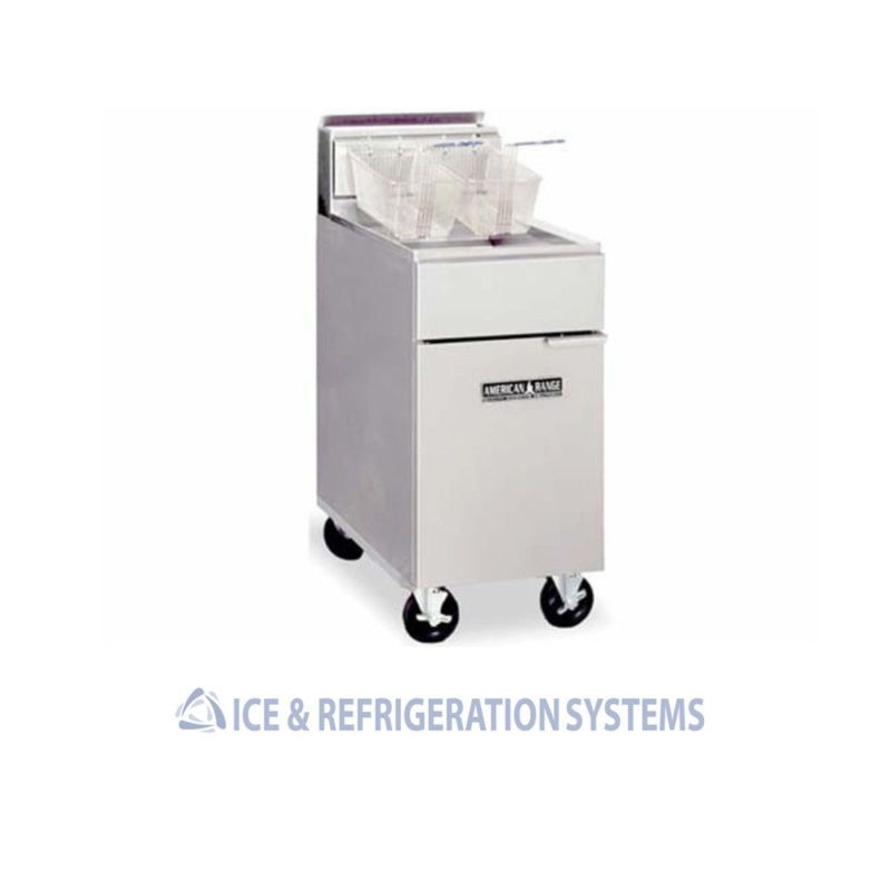 American Range Commercial Natural Gas Or Propane Deep Fryer 35